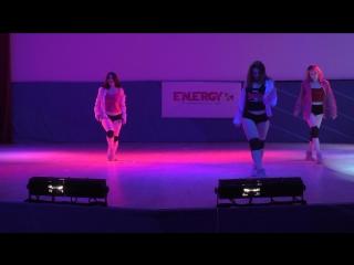 Пижамная вечеринка, номер от группы по стрип-пластике, тренер Галина Смирнова, energy-studio