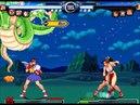 Mi MUGEN: Chun-li, Sakura, Cammy Rose vs Mai, Yuri, Athena Vice (27/11/2012)