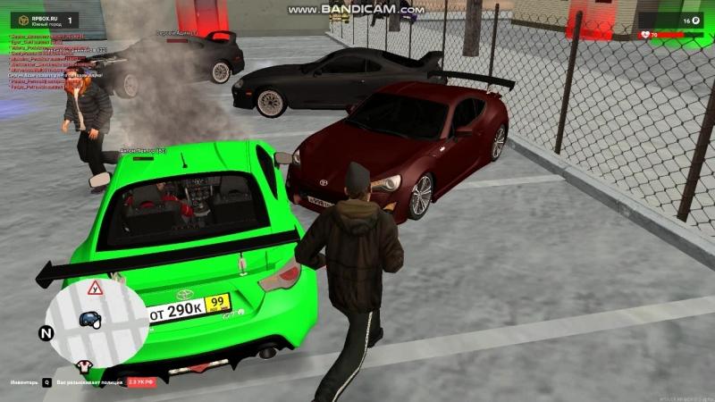 Rpbox1| Нарушение правил разбил нам авто!