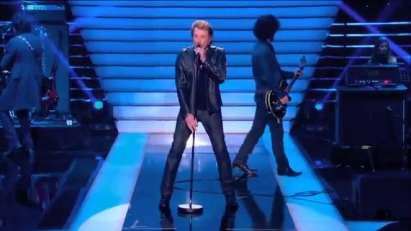 Johnny Hallyday - Le Pénitencier (Le Grand Show 21-12-2013)