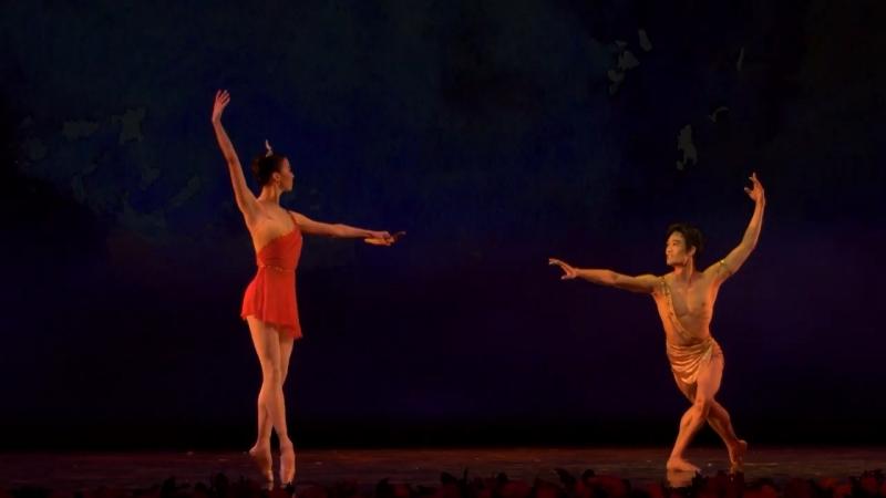 Цезарь Пуни Па де де Дианы и Актеона из балета Эсмеральда Рената Шакирова и Кимин Кин Пермь 2018