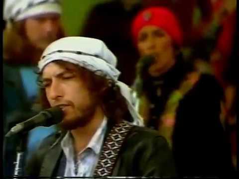 Hard Rain, Bob Dylan Rolling Thunder Revue Fort Collins CO (1976).