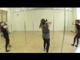 Мастер-класс Дарьи Худинской по Pole Contemporary в Kats dance studio