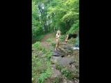 просто Юля и водопад