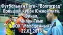 Милан-Темп.1-71-5.обзор финала флеш-интервью с братьями Полтавченко