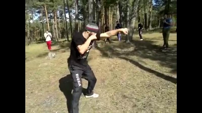 Ханлар Азизов. Тренировочные будни