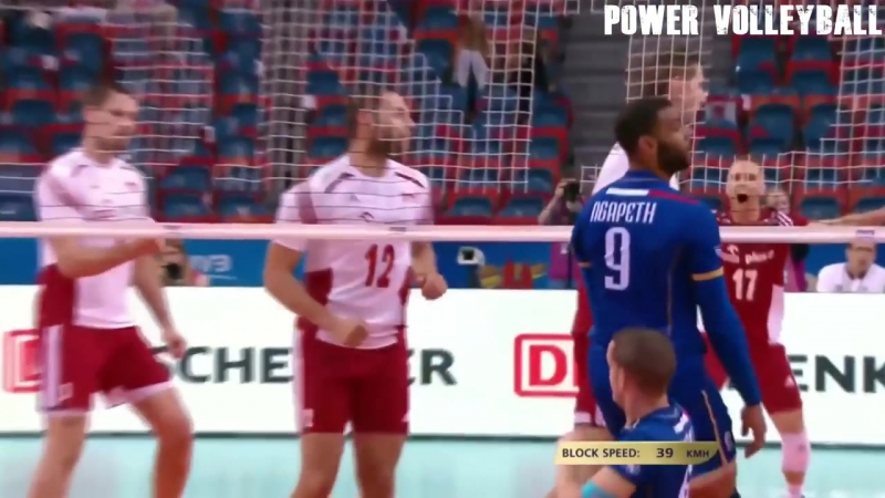 TOP 10 MONSTER Volleyball Blocks. Middle Blockers 2018 (HD)