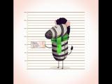 Zebra Lock Up   instagram - #maxguzenko