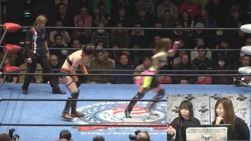 Akane Fujita vs. Arisa Nakajima (Ice Ribbon - RibbonMania 2017)