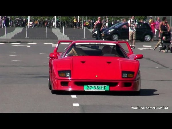 Ferrari F40 - Engine sounds!