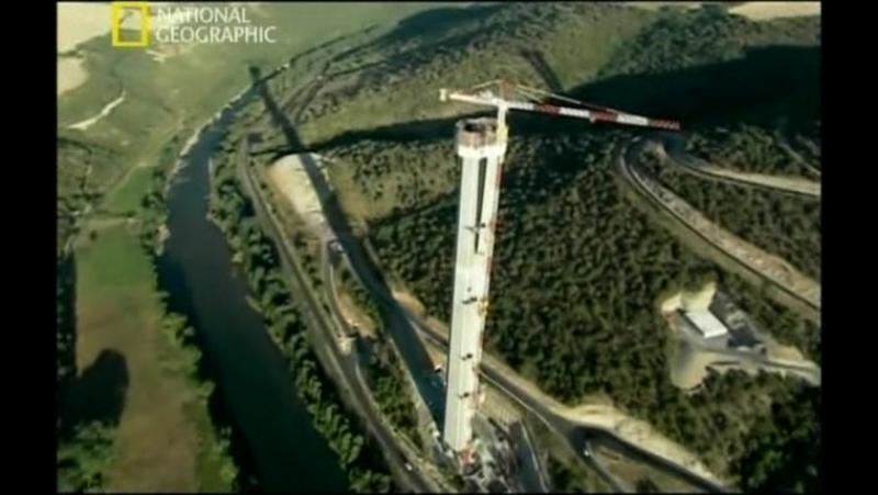 National Geographic: Суперсооружения: Мегамосты. Мост Миллау - Millau Bridge (2009)