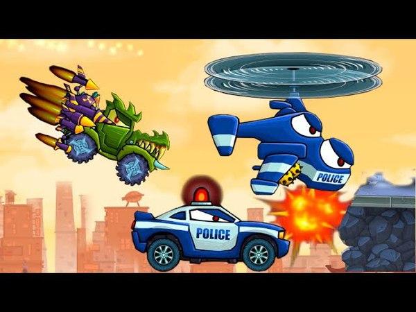 Машина ест машину 2 серия Car Eats Car 3!Мультик игра для детей про машинки игровой мультфильм 2018