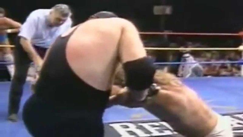 1989 10 06 USWA Challenge - Kerry Von Erich Chris Adams VS The Punisher Taras Bulba