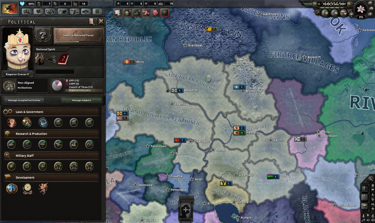 Hearts Of Iron Iv Equestria At War дневник разработчиков 2