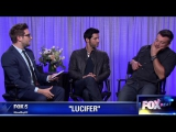 Tom Welling and Tom Ellis about the new season Lucifer.