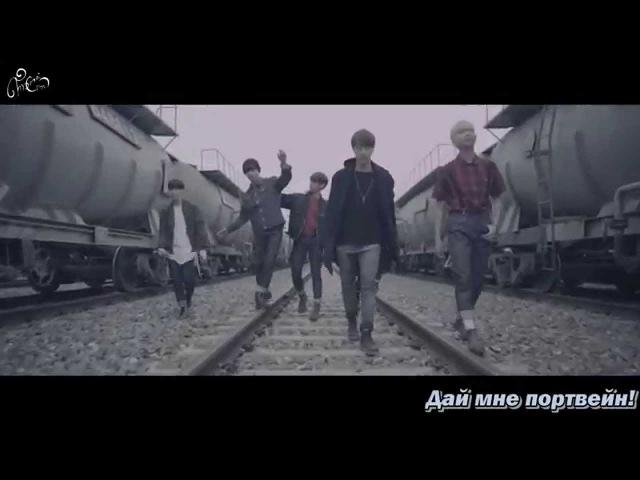 BTS - I NEED U стёб.саб. (TomeiCrow)