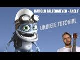 UKULELE. HAROLD FALTERMEYER-AXEL F UKULELE TUTORIAL