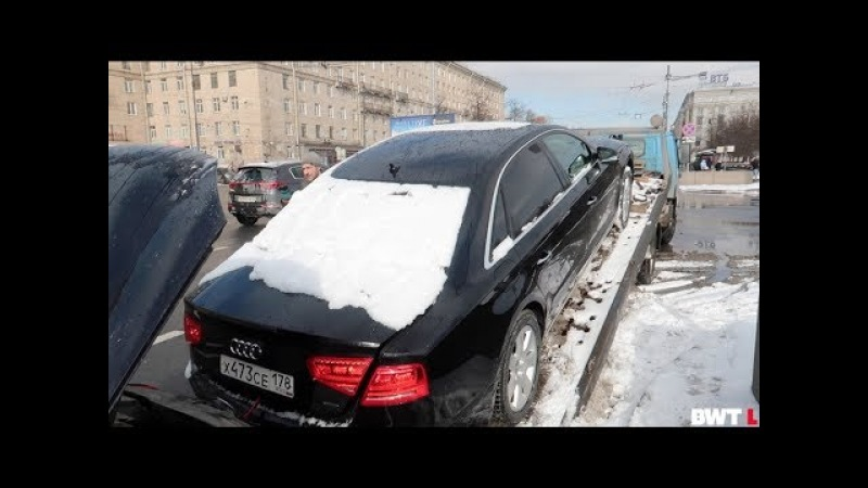 Audi A8 сломалась, почему VAG такое Г@НО??!!