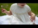 Beautiful Smocked Bishop with bound sleeves | Sewing Tutorial