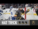 William Karlsson notches first hat trick in Golden Knights history