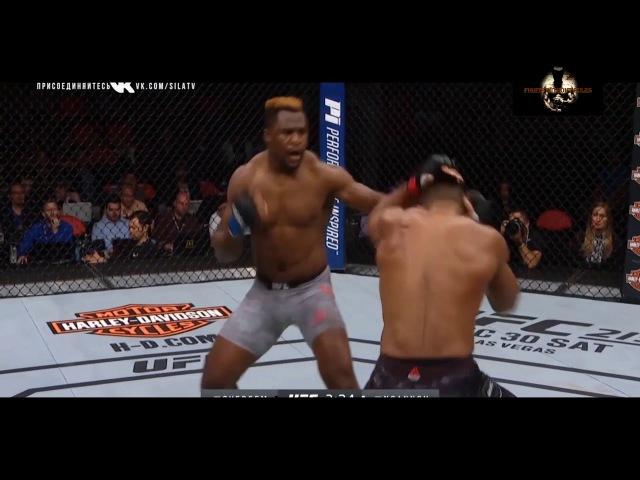 UFC 218 Alistar Overeem vs Francis Ngannou. Knockout. Алистар Оверим против Фрэнсиса Нганноу.