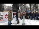 Саакашвілі звернувся до українців після нападу беркуту на табір