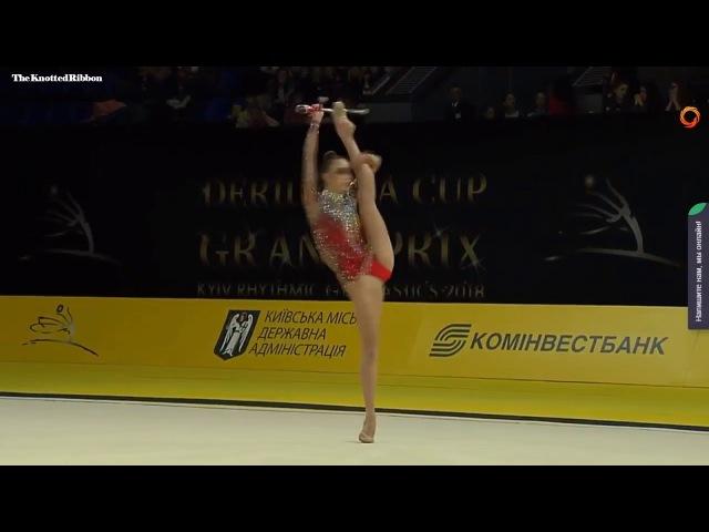 Irina Annenkova clubs EF 2018 Kiev Deriugina Grand Prix