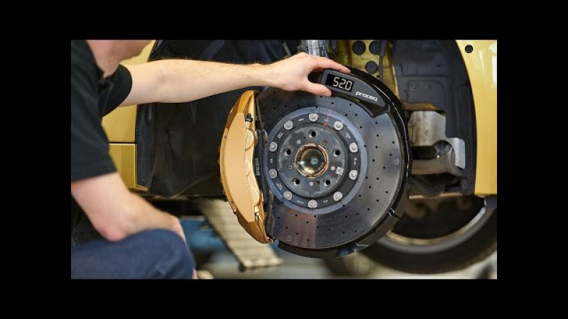 Carboteq® High precision wear indication of carbon ceramic brake discs