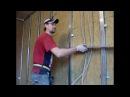 Установка профилей Монтаж гипсокартона на стены Plasterboard installation Gyprock