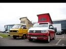 VW T3 Westfalia Joker 1981 vs. VW T6 California Ocean 2016
