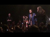 Sharon den adel crowd surfing - Carre - Amsterdam - Maiden United - 27-01-2018