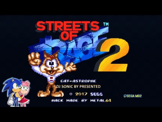 Bubsy in Streets of Rage 2 (Sega 2017) Walkthrough