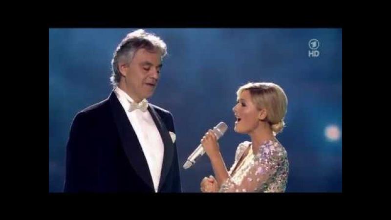 |HD| Andrea Bocelli Helene Fischer - The Prayer [Live]