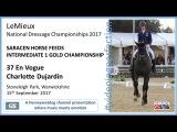 LeMieux National Dressage Championships Charlotte Dujardin En Vogue