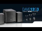 LD Systems DAVE 12 G3 - активная звуковая PA система с DSP.