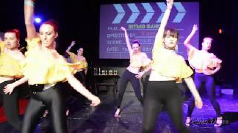 Сальса Женский стиль с Наташей Сиренко/ Отчётный концерт / Школа танцев Ritmo Dance.