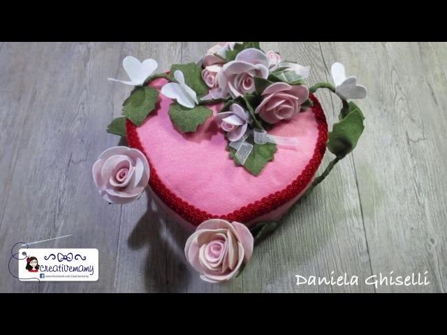Diy tutorial come realizzare un cuore fiorito per la festa della mamma Mother's Day