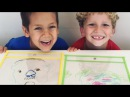 Drawing Portraits - fun kids activity