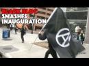 Black Bloc Smashes Inauguration