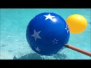 MAGIC POOL BALL water activity playtime. CoolToys family friendly video