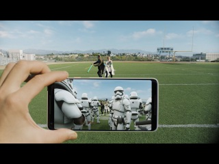 Google Pixel 2 | The Last Jedi AR Stickers