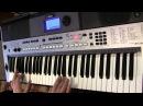 Седая ночь на синтезаторе Yamaha PSR E443
