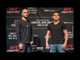UFC on FOX 26 Media Day Staredowns - MMA Fighting ufc on fox 26 media day staredowns - mma fighting