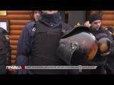 Полное видео нападения на православный храм Львова нацистами ВО Свобода во глав...