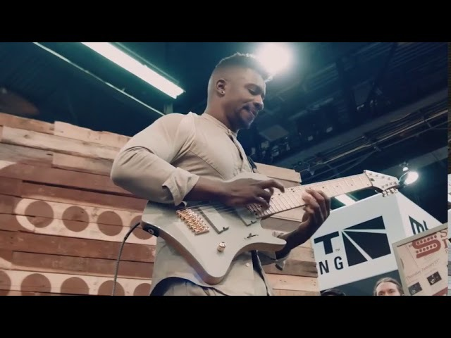 Tosin Abasi - Tempting Time @ NAMM 2016