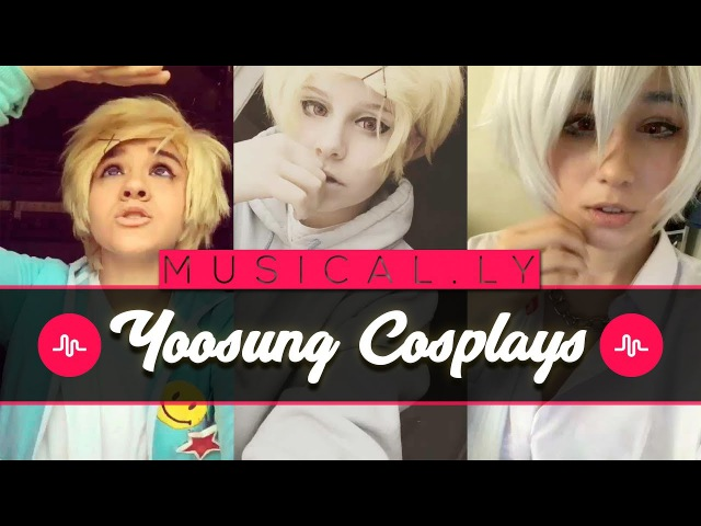 ★ NEW Yoosung Mystic Messenger Musical.ly Cosplay Compilation | TOP Featured Cosplays ★