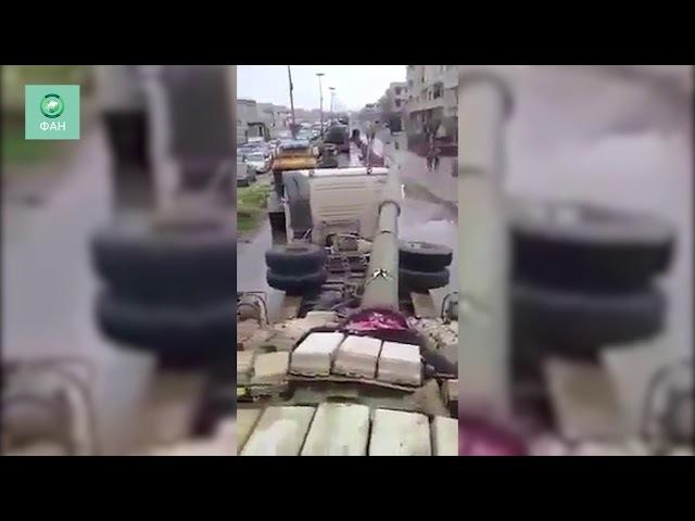Сирия корреспондент ФАН запечатлел Тигров и командира Сухейля Аль Хасана в Восточной Гуте