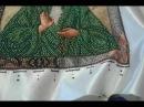 Вышивка бисером Как я вышиваю в технике полукрест и назад иголка
