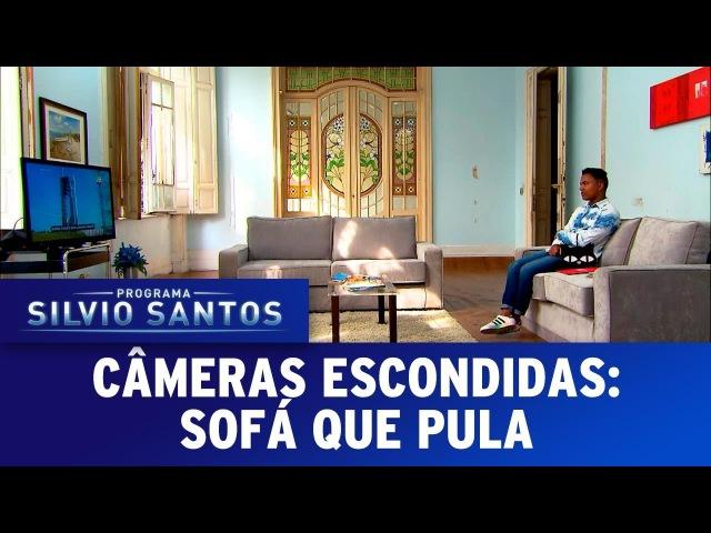 Sofá que Pula - Nasa Couch Prank | Câmeras Escondidas (12/11/17)
