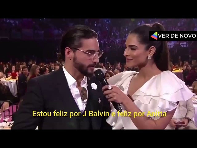 Maluma é obrigado a elogiar Anitta e J Balvin | LEGENDADO